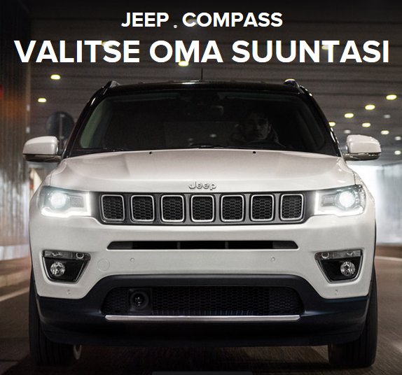Jeep Compass - valitse oma suuntasi